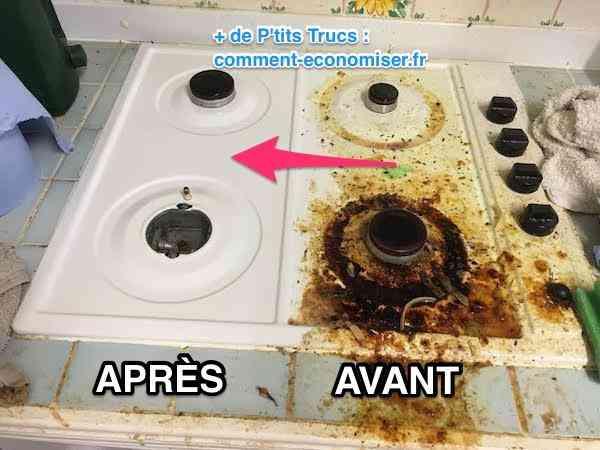 Nettoyage plaque la recette pour dgraisser facilement votre plaque de cuisson soin blanchiment - Nettoyer four catalyse tres sale ...