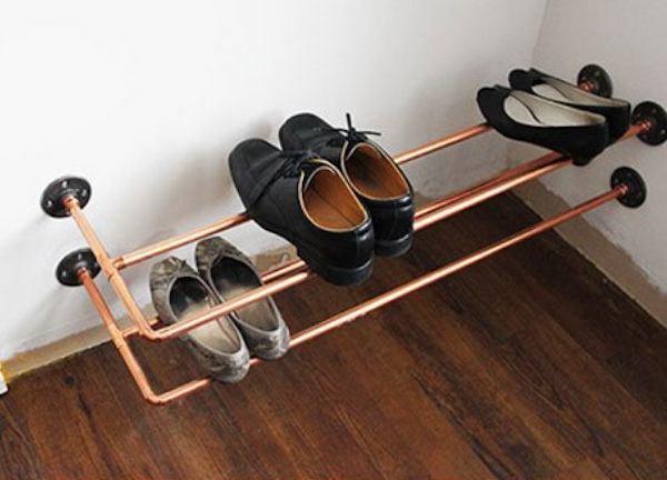 28 astuces g niales pour ranger ses chaussures quand on n 39 a pas de place. Black Bedroom Furniture Sets. Home Design Ideas