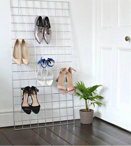 28 Astuces Géniales Pour Ranger Ses Chaussures Quand On N\'a Pas de ...
