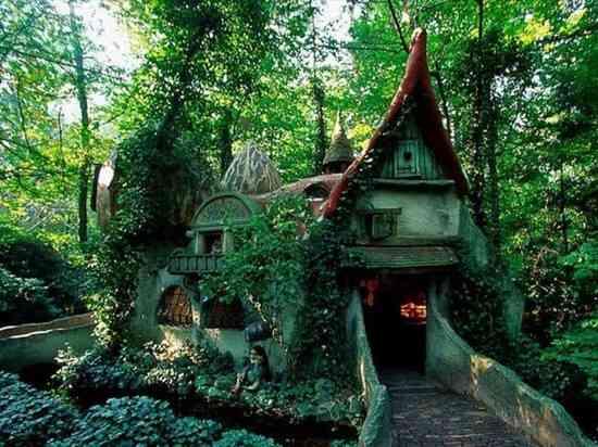 maison elfe au pays bas