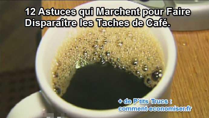 tache de café : 12 astuces qui marchent pour la faire disparaître.