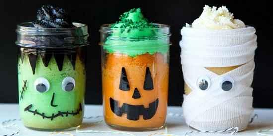mug cakes rigolo pour halloween