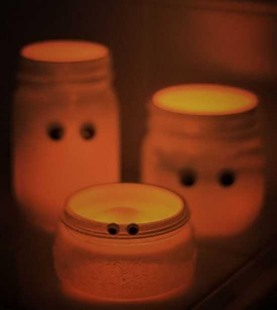 bougie mort-vivants pour halloween décoration