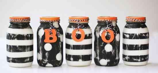 fabriquer des pots décoration pour halloween prisonnier