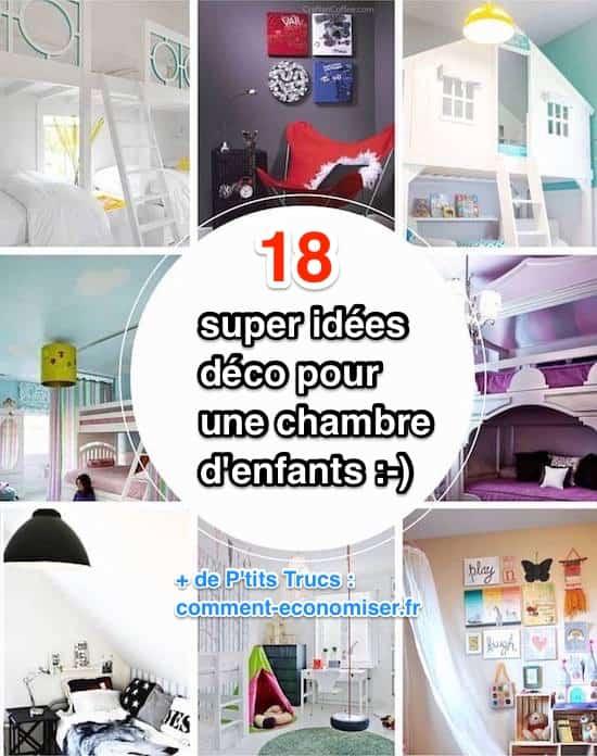 18 Super Idées Déco Pour une Chambre d\'Enfant.