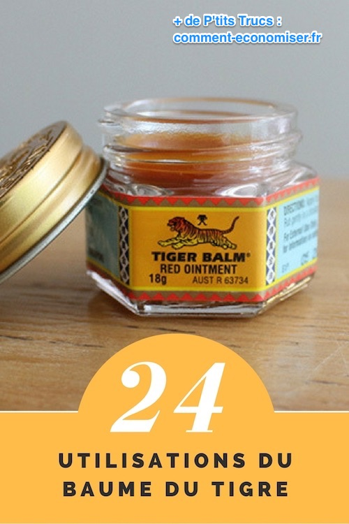 comment utiliser le baume du tigre ?