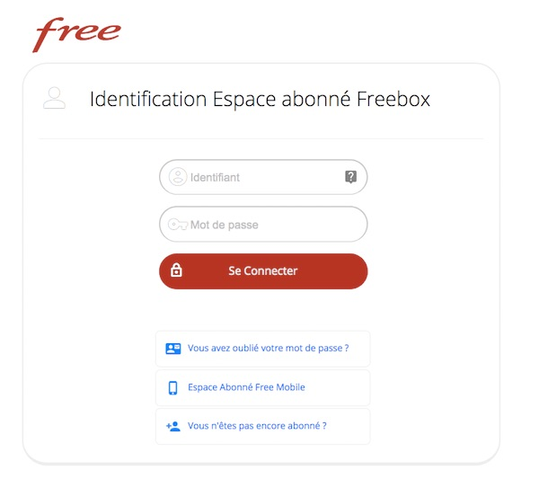 comment changer le code free wifi