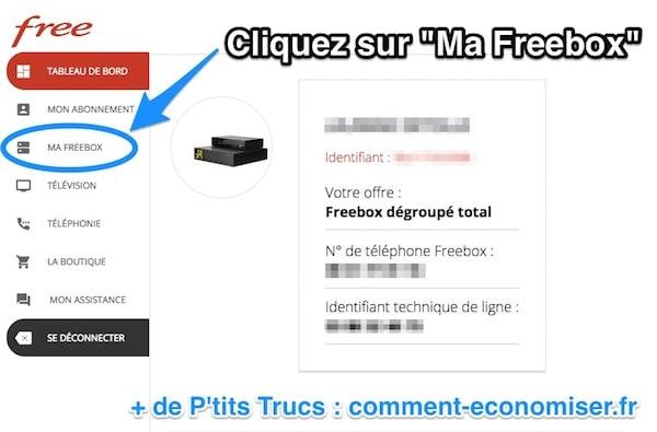 free wifi mot de passe perdu