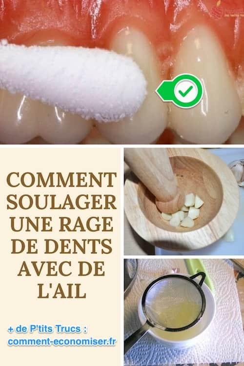 douleur dentaire remede rapide