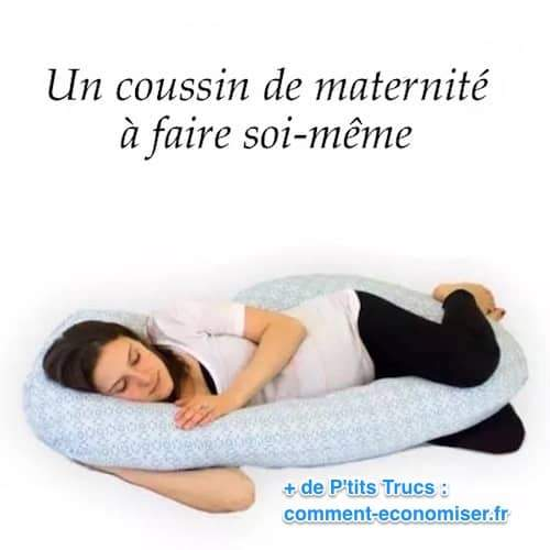 un coussin de maternité à faire soi-même ou à acheter