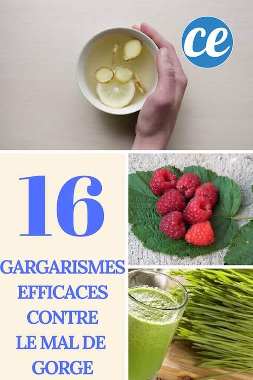 16 gargarismes naturels et efficaces pour soulager un mal de gorge
