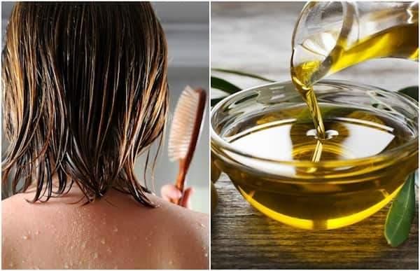 Utilisez l'huile d'olive pour fortifier les cheveux