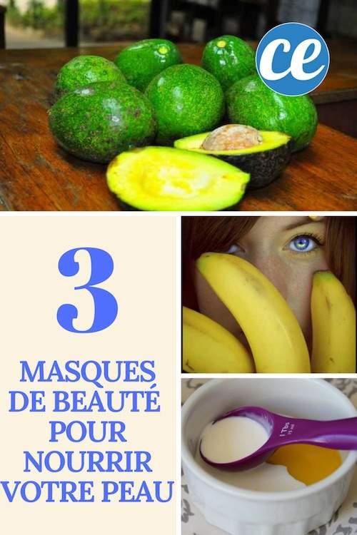 recettes de grand-mère pour faire des masques pour le visage