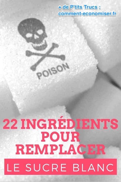 par quoi remplacer le sucre blanc