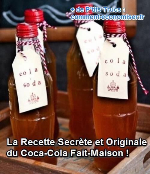 la recette du coca cola fait maison