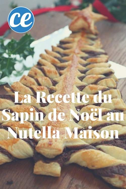 d licieuse et pr te en 10 min la recette du sapin de no l fourr au nutella maison. Black Bedroom Furniture Sets. Home Design Ideas