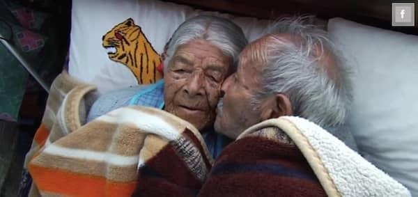 81 ans de mariage 110 arri re petits enfants et ils s 39 aiment comme au 1er jour - Comment faire l amour tout nu dans le lit ...