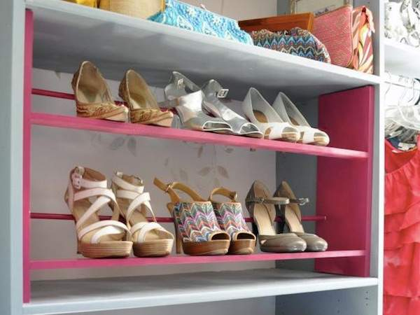 28 astuces g niales pour ranger ses chaussures quand on n. Black Bedroom Furniture Sets. Home Design Ideas