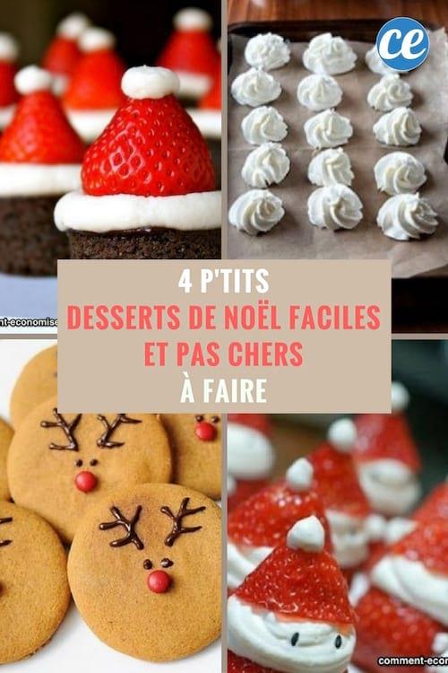 Dessert sympa pour noel