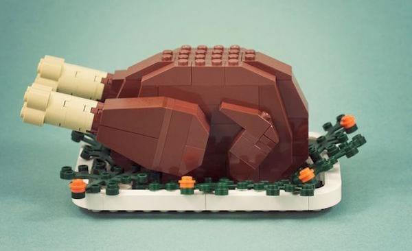 une dinde pour un repas buffet à Noël