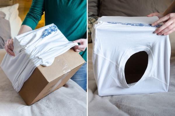 14 fa ons ing nieuses de r utiliser les bo tes en cartons. Black Bedroom Furniture Sets. Home Design Ideas