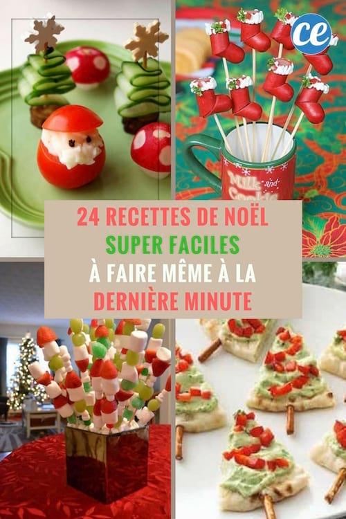 Idee De Menu De Noel Facile Et Pas Cher.24 Recettes De Noel Super Faciles A Faire Meme A La Derniere