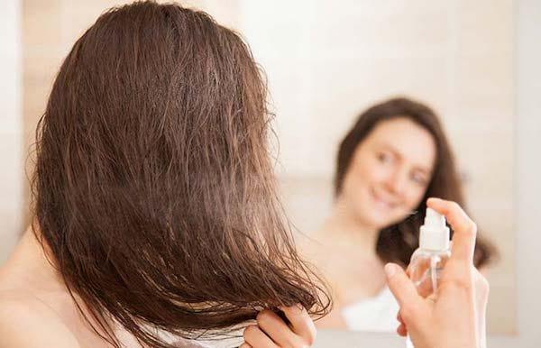 lisser les cheveux avec du lait