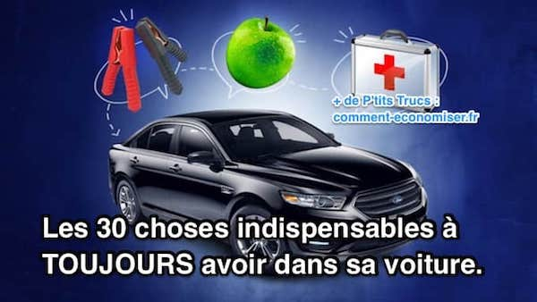 Kit indispensable voiture