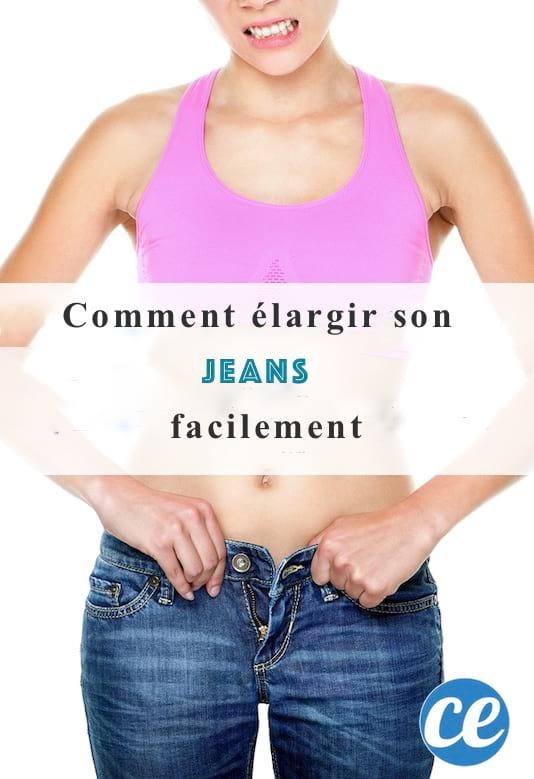 comment élargir un jean facilement