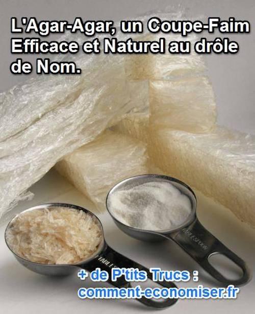 L 39 agar agar un coupe faim efficace et naturel au dr le de nom - Cherche coupe faim efficace ...