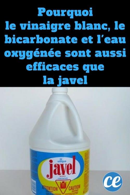 Pourquoi le vinaigre blanc le bicarbonate et l 39 eau oxyg n e sont aussi efficaces que l 39 eau de - Vinaigre blanc et bicarbonate ...