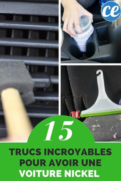15 trucs incroyables pour que votre voiture sale soit comme neuve. Black Bedroom Furniture Sets. Home Design Ideas