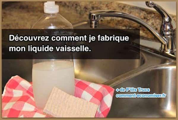 Comment Je Fabrique Mon Liquide Vaisselle.