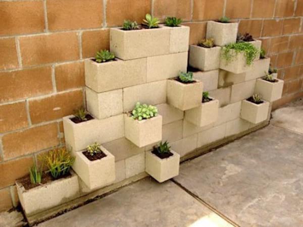 Idee de recup pour faire un pot de fleurs avec des parapings