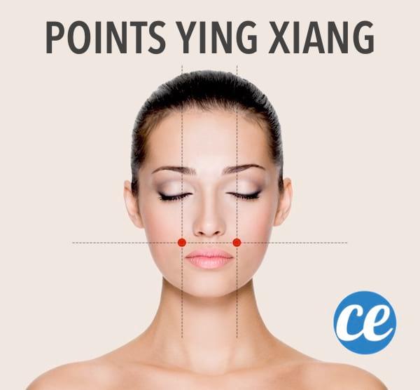 Utilisez la technique d'acupressionYing Xiangpour disparaître lesdouleurs de vos maux de tête sans utiliser d'aspirine ou de paracétamol.