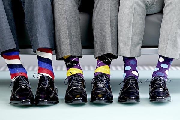Porter des chaussettes originales change la perception des autres, mais aussi notre propre perception.