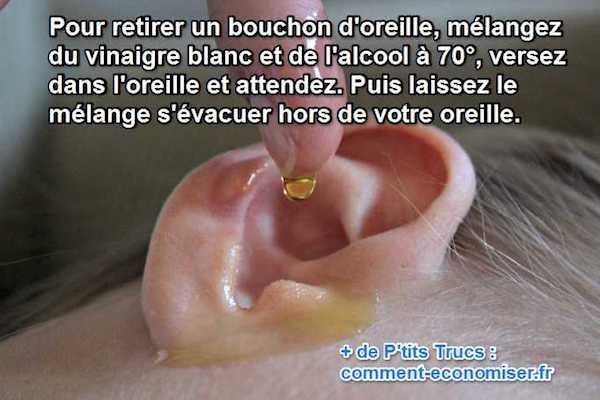 soigner oreille bouchée naturellement
