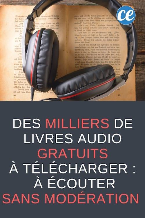 des sites pour écouter des livres gratuitement en français ou en anglais