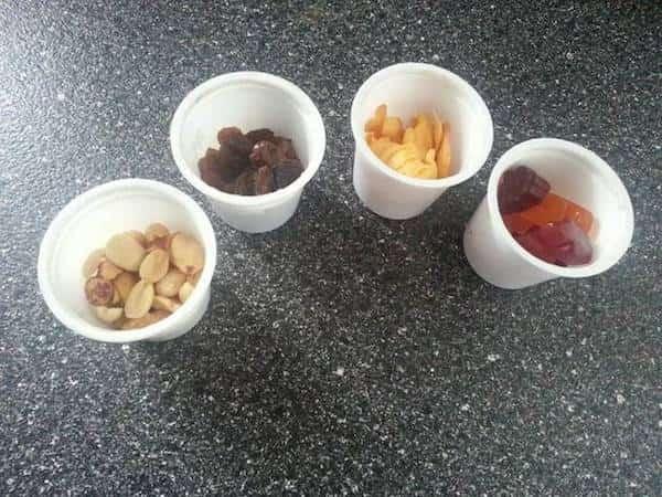 petite portion apéro ou goûter dans capsule de café
