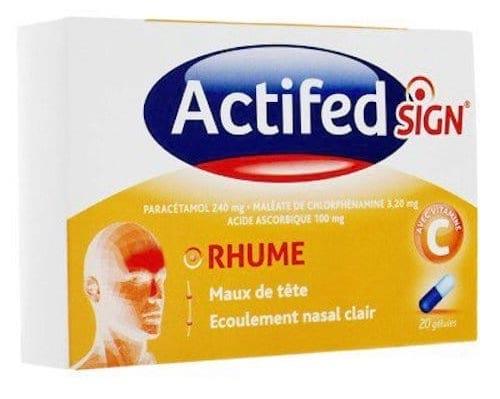 Actifed Sign est un médicament dangereux pour la santé des enfants