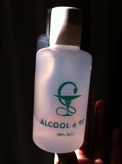 alcool à 90°