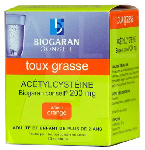 Biogaranacétylcystéine est à éviter pour les enfants