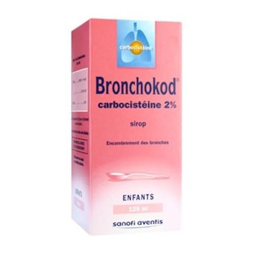 Bronchokod enfant carbocistéine est à éviter