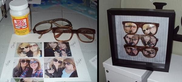 comment recycler de vieilles lunettes