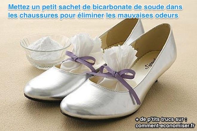 l 39 astuce radicale pour liminer les odeurs des chaussures qui puent. Black Bedroom Furniture Sets. Home Design Ideas