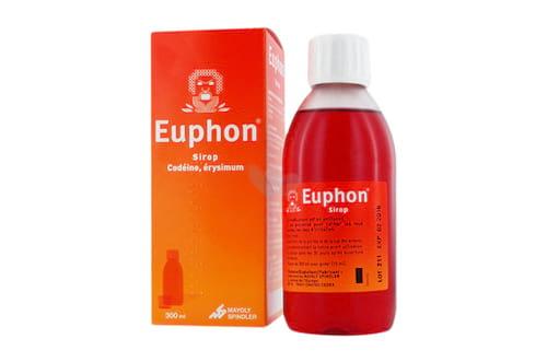 Euphon est un sirop à éviter pour les enfants