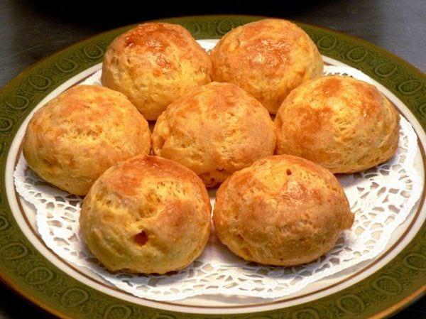 recette des gougères au chorizo