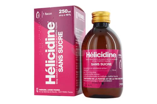Hélicidineest un sirop à éviter pour les enfants