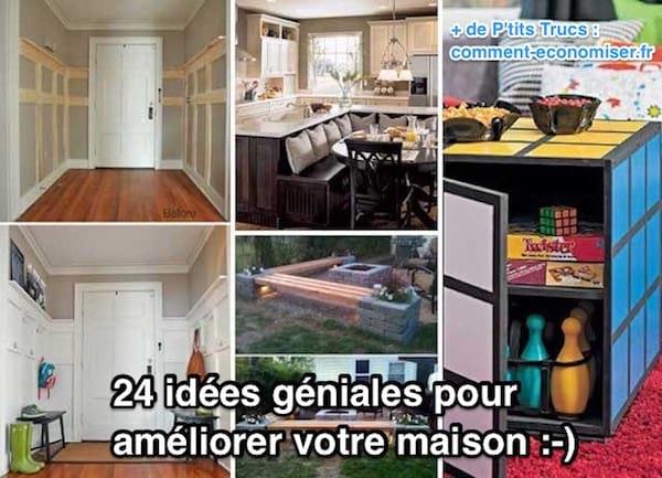 24 id es g niales pour am liorer votre maison ne ratez pas la n 19. Black Bedroom Furniture Sets. Home Design Ideas