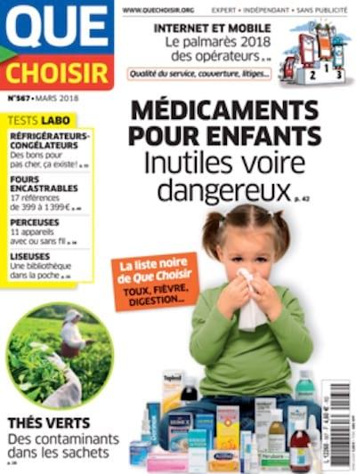 Liste des médicaments à éviter pour les enfants